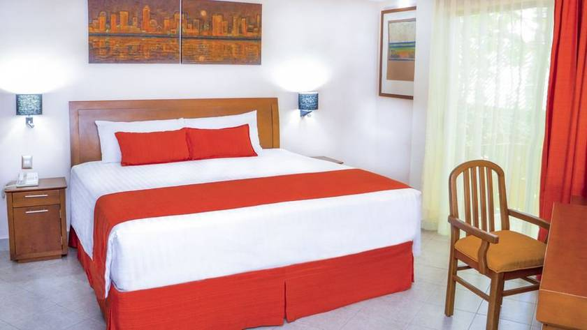 Junior suite hotel viva villahermosa